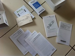 htc 7-Mozart manuals