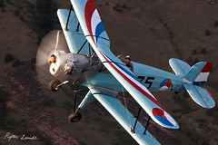 Bucker Jungmann (Champion Air Photos) Tags: airtoair jungmann bucker