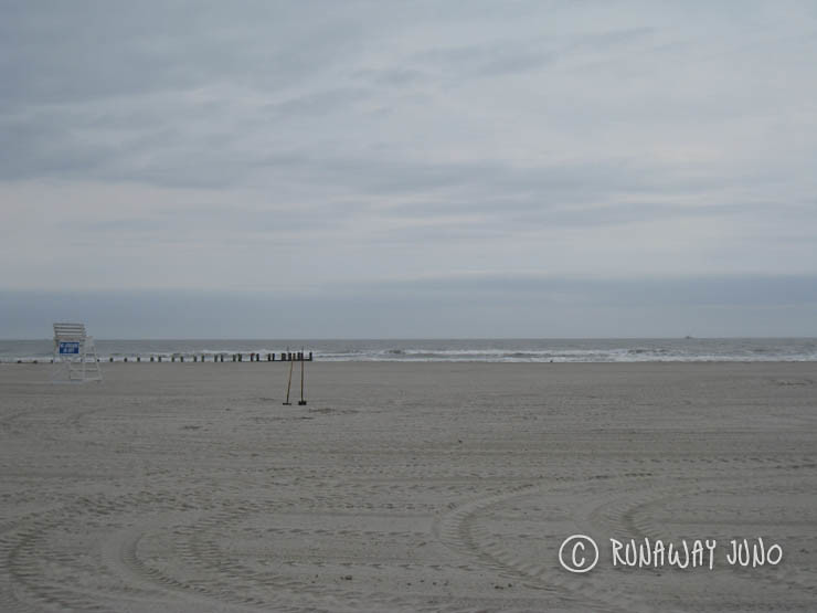 Empty beach, Wildwood Crest