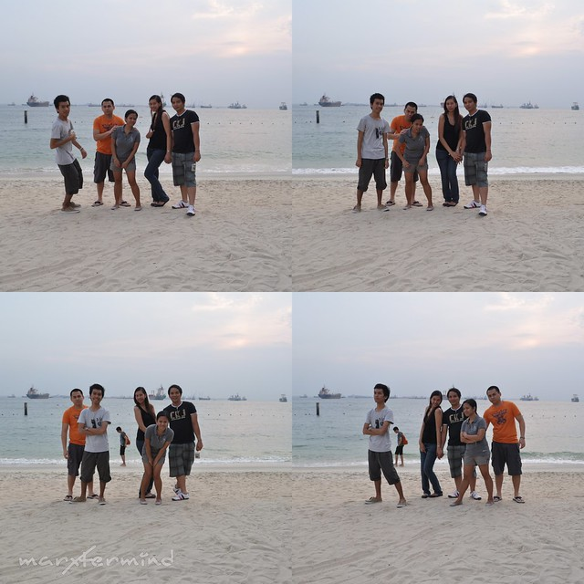 Photo ops at Siloso Beach