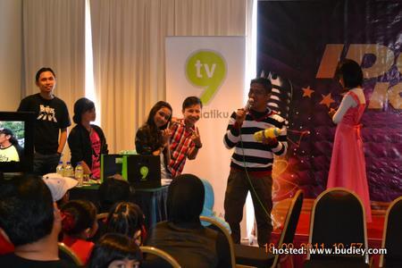 bermain games bersama Dayana, Harris dan Balqis