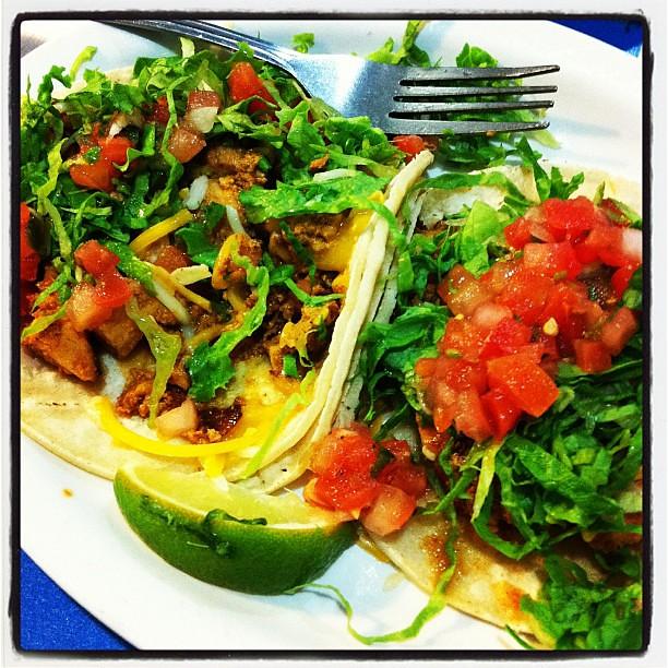 Project 365 263/365: I heart chicken tacos from @WahoosFishTaco.