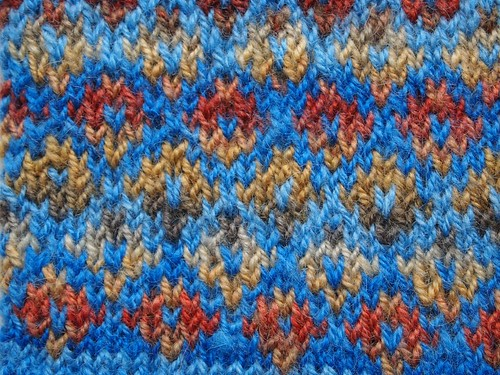 close up stitch pattern