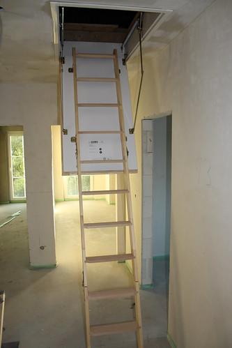 Innenausbau Dachbodentreppe