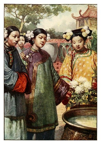 004-Jovenes Manchu-China 1910- Norman H. Hardy