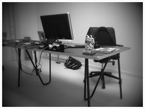 New office in the making.