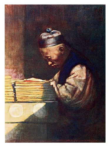 012- Un estudiante-China 1909- Mortimer Menpes