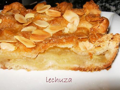 Empanada de manzana-porción