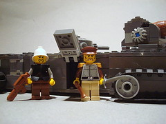 """Landship"" Disembarking (Chaplinaustin) Tags: new me digital toys am cool rust funny flickr gun track ipod lego you designer lol stickers navy halo steam give want 40k your will prototype views badger half cannon warhammer plasma them reach custom militia smg should trade cheap epic memes m4 m16 tanks mods minigun prototypes airsoft carbine mac10 warhammer40k galil dreadnought ipad gatling ldd protos modifications youtube w40k brikwars aa12 amiright ipodtouch brickarms postapoc mac11 apocalego brikarms chaplinaustin austzechia"