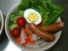 朝食サラダ(2011/9/24)