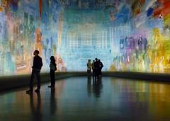 Paris SEPT2011 Musee d'Art Moderne de la Ville de Paris Dufy Le fee electricite 1