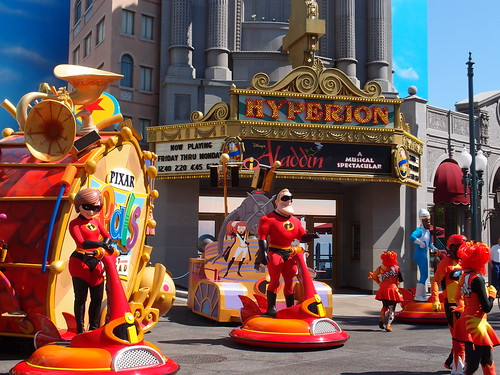 Disney Carifornia Adventure - The Incredibles