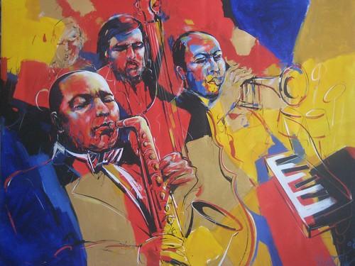 Jazz Group - Painting