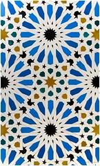 Morrocan mosaic tiles_01 (Elvir72) Tags: art tile northafrica mosaic arab moorish fes marroco marakkesh