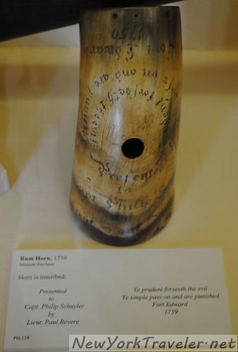 Schuyler Powder Horn