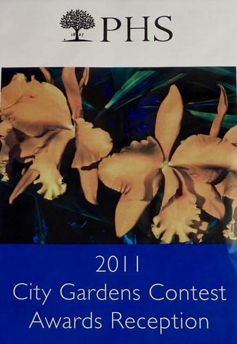 2011 City Gardens Contest