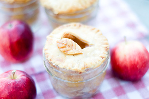 Mini Apple Pies in a Jar