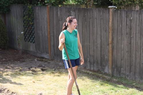 Megan Digging