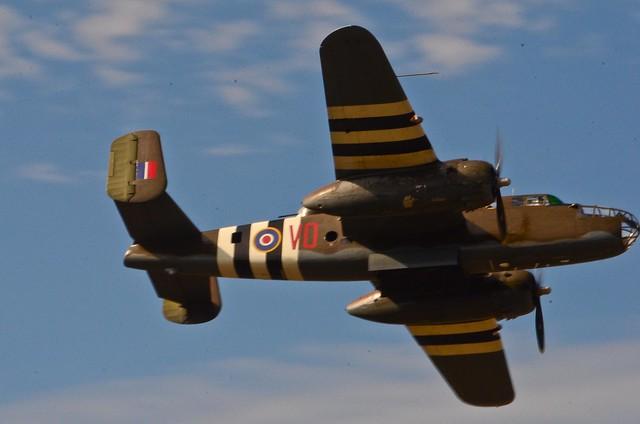 "1943 B-25D Mitchel Bomber ""Grumpy"""