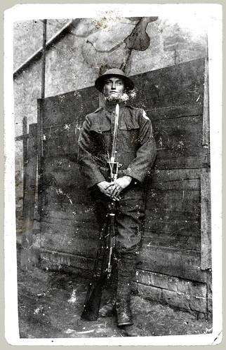 RPPC man in uniform