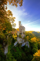 Lichtenstein Castle - Germany (kryyslee) Tags: travel color castle colors canon germany photography eos photo europe foto photos couleurs picture christophe schloss backpacker allemagne chteau couleur lichtenstein 50d schlos kryyslee christophepaquignon paquignon