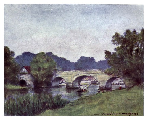 007-Wallingford-The Thames-1906- Mortimer Menpes