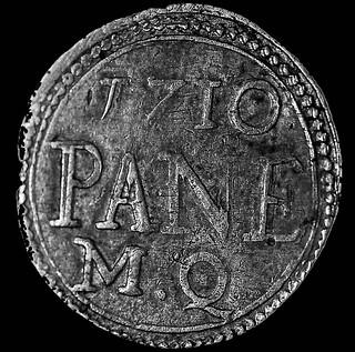 Segno di beneficenza, 1710