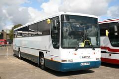 Arriva the Shires DAF SB3000 Plaxton Prima (DennisDartSLF) Tags: coach duxford prima daf arriva plaxton showbus 4368 arrivatheshires sb3000 w368xkx