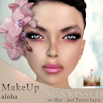 LeeZu! Silka Sunkissed M.up aloha AD by Cherokeeh Asteria
