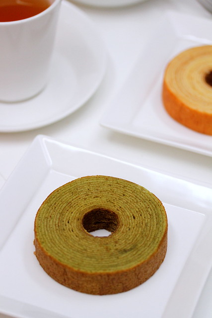 Green Tea Baumkuchen @ Wheat Baumkuchen