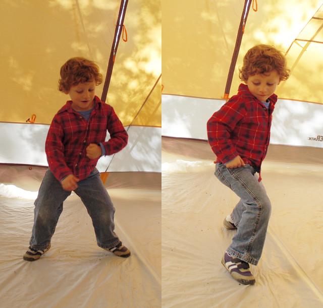 josh dancing