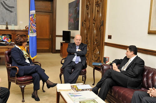 OAS Secretary General Met with Minister of Transparency and President of the House of Representatives of Bolivia