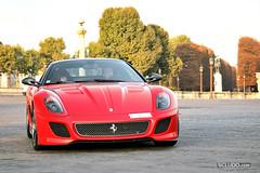 Ferrari 599 GTO (Ludovic (SCLUDO.com)) Tags: 6 paris cars car sport day ferrari exotic spotted gto rosso kb supercar vi sportscars exotics corsa supercars sighting 670 v12 599 sportcars rossocorsa exoticscars kbrossocorsa 599xx scludo scludocom