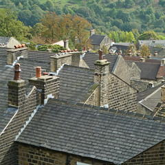 The Rooftops of Golcar by Tim Green aka atoach