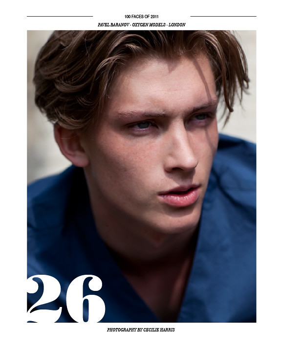 Pavel in Client Magazine's Top 100 Faces of 2011
