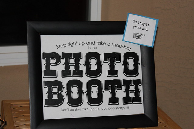 Photo booth. A party MUST HAVE!
