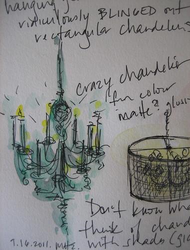 Detail Chandelier