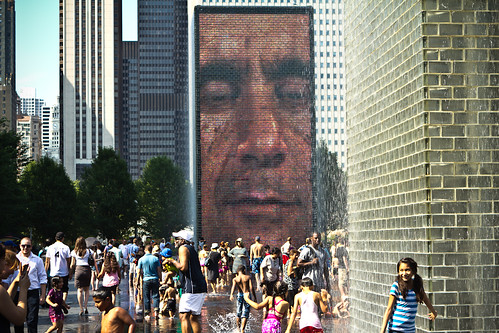 110801 Crown Fountain