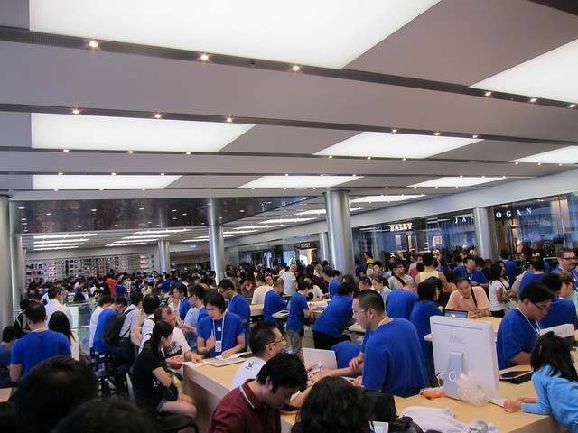Apple Store @ IFC Mall, Hong Kong