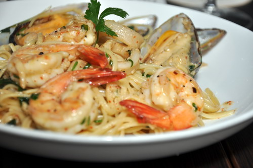 Seafood Olio  Aglio