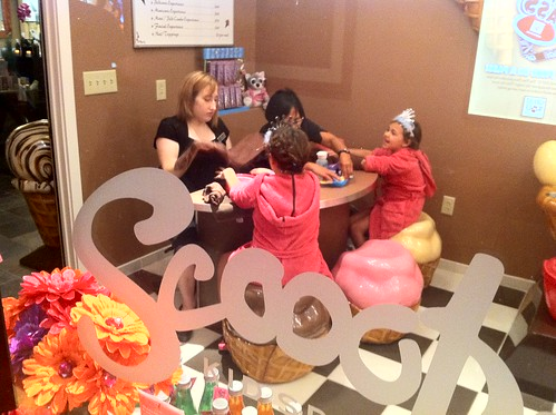 Scoops Kids's Spa at Great Wolf Lodge