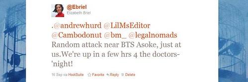 Incident tweet 3