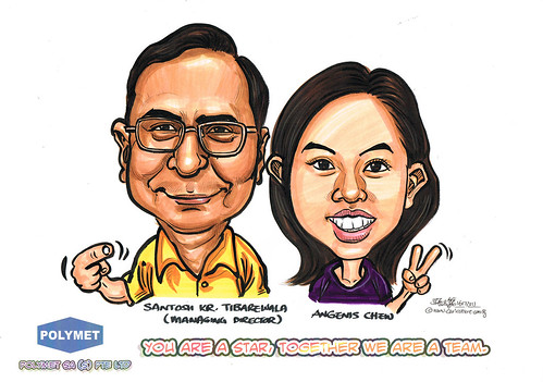 Caricatures for Polymet - 1
