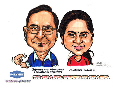 Caricatures for Polymet - 14