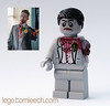 """Ooh, he's got an arm off!"" (tomleech) Tags: wedding dead tim missing lego arm zombie mini off suit figure decal shaun minifig custom usher amputee baggaley"