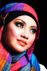 Hijab (esmar.abdulhamid) Tags: eyes hijab muslimah kaftan melayu beautifull tudung mesmerizing gadis kerudung