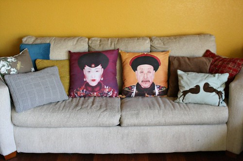 pillows.