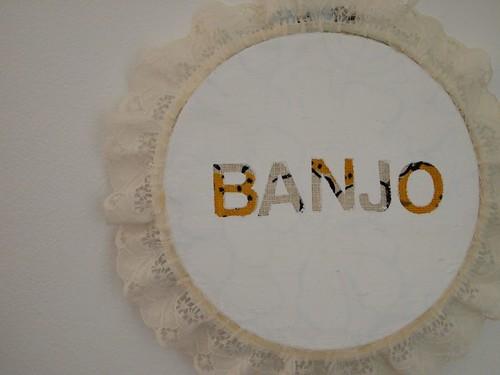 Astrid's banjo art