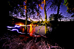 Lake Star Stax (candersonclick) Tags: california longexposure camping timelapse josh startrails 2011 nikond700 sigma1224ultrawidelens