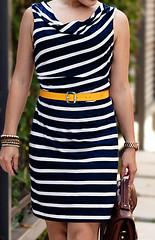 LOFT Wanda Striped dress